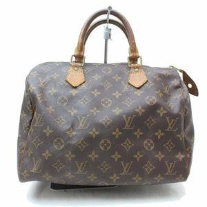 Auth Louis Vuitton Speedy Bag Satchel #921L13